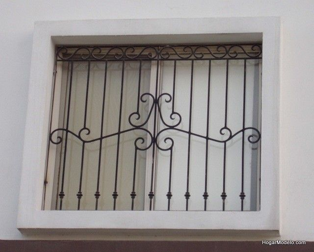 imagen de modelo de verjas de hierro contemporánea con diseño contemporáneo