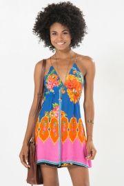 vestido alca cruzada sarongue
