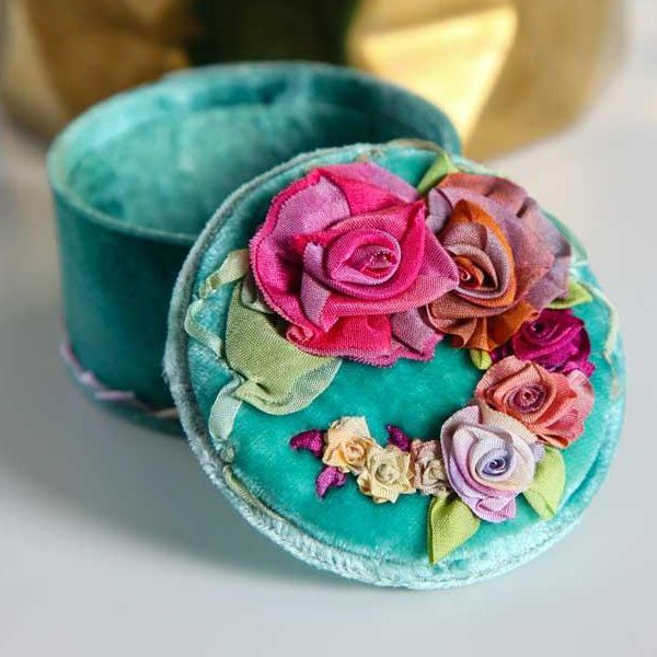 Best ribbon embroidery short tutorials images on