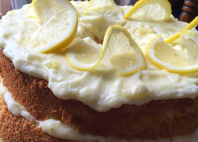 Tortas de Limón Luscious | Torta de Limón de Gasa
