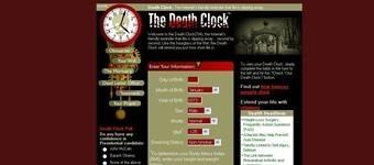 Feito especialmente para pessoas que tem um humor levemente mórbido, o Death Clock pede todos os seus dados e calcula a hora exata de sua morte! É claro que não passa de uma brincadeira. Vai arriscar?Fonte: Acesse aqui