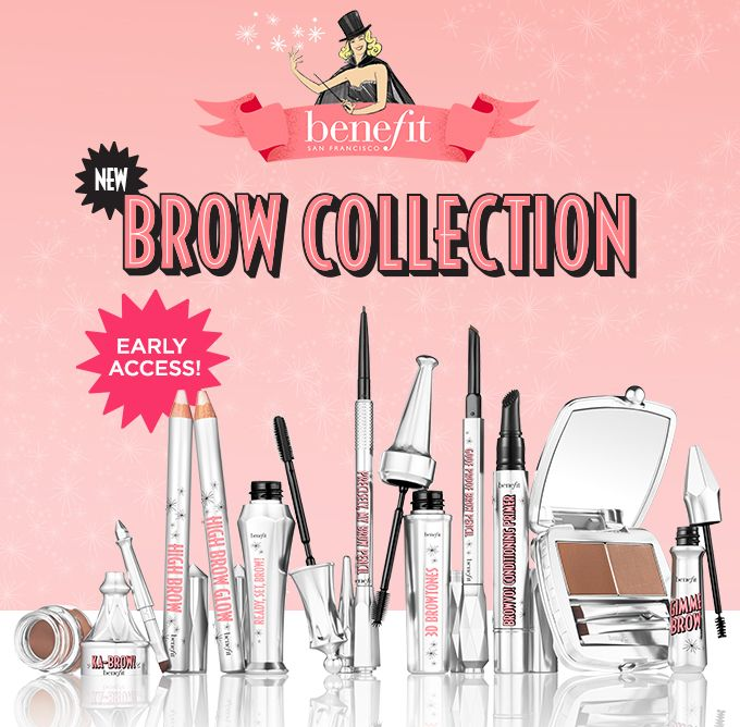 Sign up to win FREE brow products from Benefit's BROW COLLECTION benefitcosmetics #benefit #brows #free