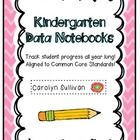 Everything you need to start using data binders in your Kindergarten classroom!  This 74 page unit will help track and document progress made by al...
