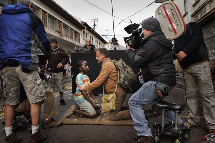 24 Redemption Behind the Scenes - Kiefer Sutherland and Siyabulela Ramba