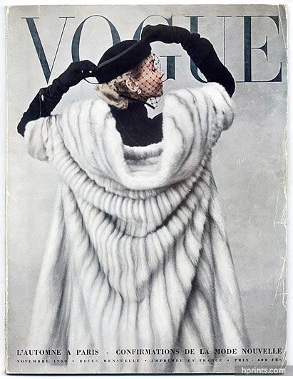Vogue (Paris) 1950 Novembre, Photo Irving Penn, Jacques Fath, Tom Keogh…