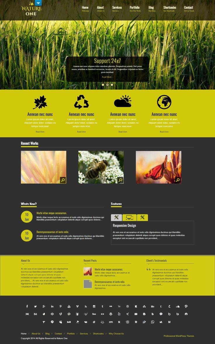 Free Landscaping WordPress Themes for Gardening Websites