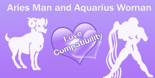 Aquarius man and Aries woman