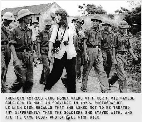 JANE FONDA IN VIETNAM WAR. 1972 | Vietnam-Never Again | Pinterest
