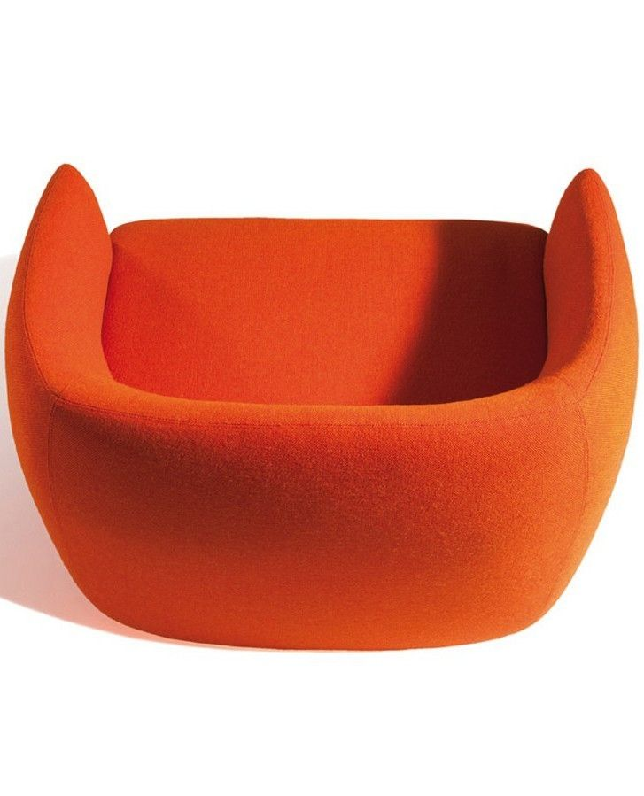Capdell presents Plum at iSaloni 2015 - A new seating collection designed by Claesson Koivisto Rune #orange