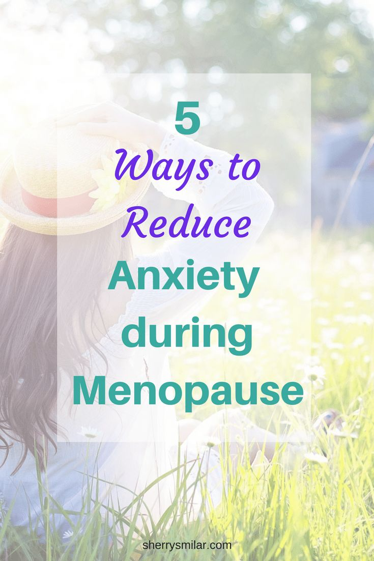 Stress and anxiety are common symptoms of menopause, but there are simple changes you can make to your life to help to reduce them.