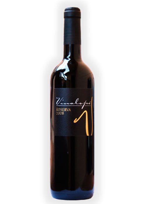 Vinalopó Reserva de la Bodega Cooperativa Nuestra Señora de las Virtudes http://vinosalicantedop.org/bodegas/