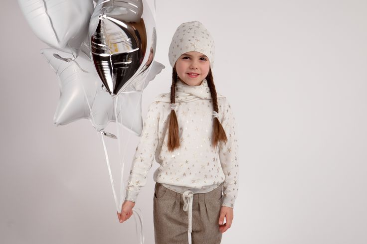 Collection CdeC AW 2014 - Pull Aubrey Star Ivoy, pantalon Kansas Chevron Brown #cdec #lookbook #kidsfashion