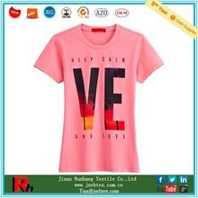 Customized design women slim fit crew neck printing cotton tee shirt  Best buy follow this link http://shopingayo.space