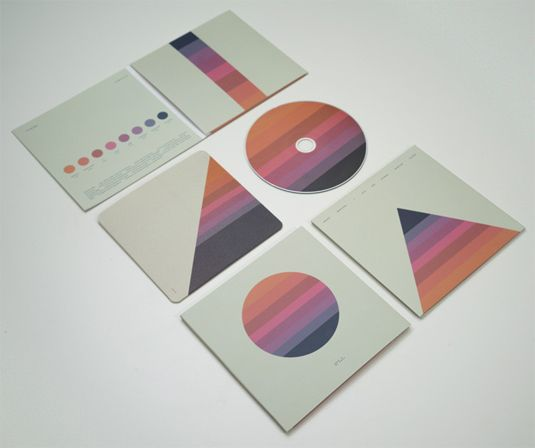 "Tycho aka Scott Hansen created the artwork himself for his second album ""Awake."""