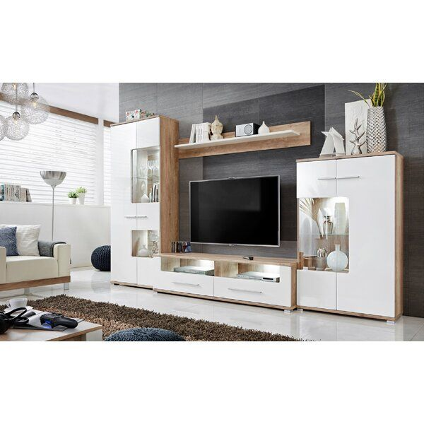 Caverly Entertainment Center For Tvs Up To 65 In 2021 Living Room Tv Unit Living Room Designs Living Room Tv Unit Designs