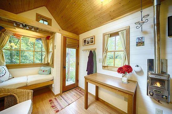 Tumbleweed Tiny House Interior | little houses i like: interiors / Fencl Plans | Tumbleweed Tiny House ...