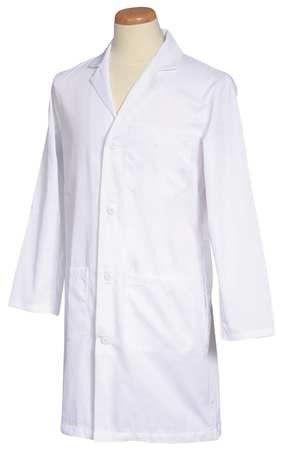 Fashion Seal Men's,White Lab Coat,L, Size: Large