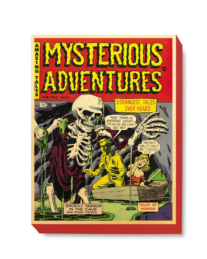 HOR 014 Horror Comic Cover - Mysterious Adventures