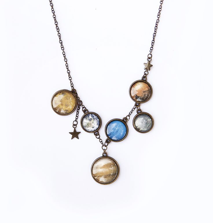 Ilianne | Jewelry Made of Love - Solar System Necklace