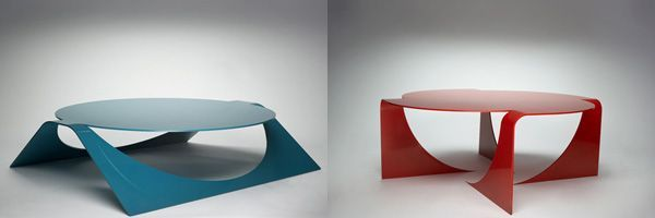 Manifold: One Metal Sheet of Table - http://freshome.com/2009/10/22/manifold-one-metal-sheet-of-table/