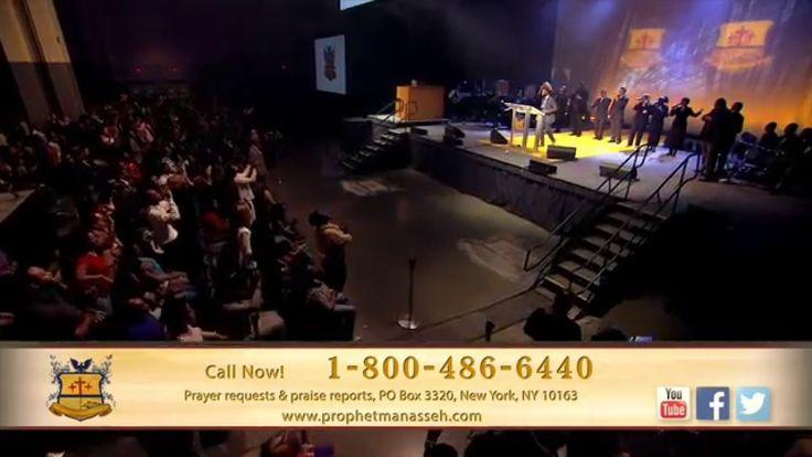 "Prophet Manasseh Jordan - VaShawn Mitchell ""Nobody Greater"""