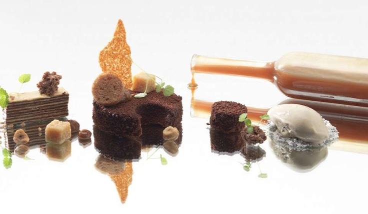 90plus.com - The World's Best Restaurants: La Rive - Amsterdam - Netherlands L'art de dresser et présenter une assiette comme un chef de la gastronomie... > http://visionsgourmandes.com > http://www.facebook.com/VisionsGourmandes . #gastronomie #gastronomy #chef #presentation #presenter #decorer #plating #recette #food #dressage #assiette #artculinaire #culinaryart