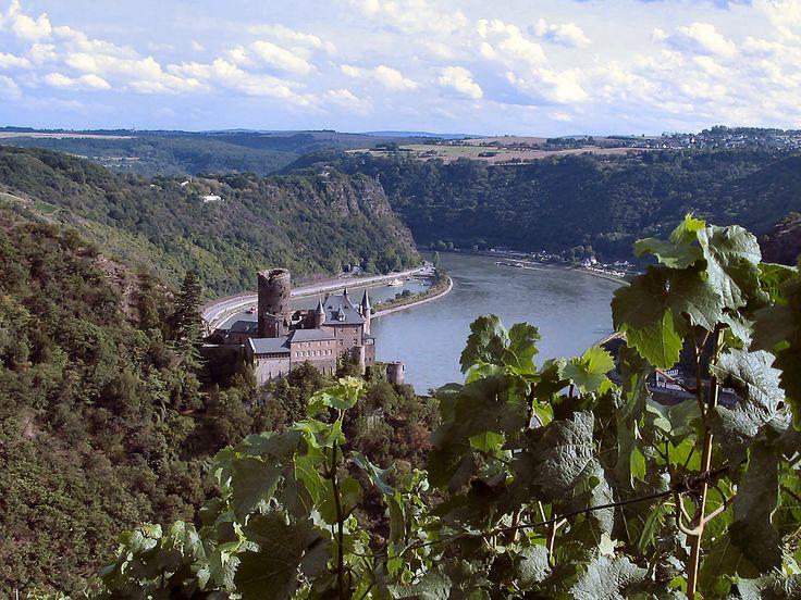 Château sur le Rhin