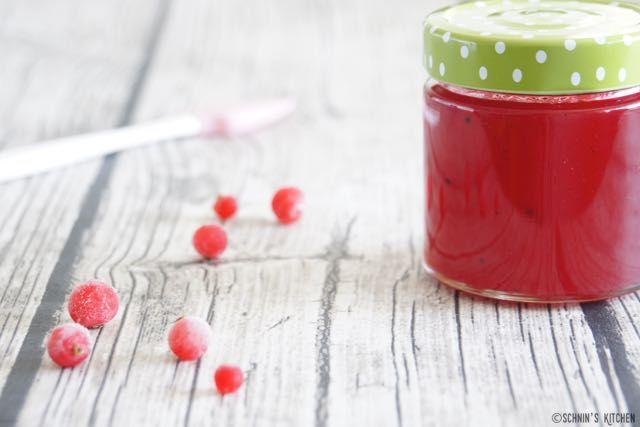Schnin's Kitchen: Rotes Johannisbeergelee mit Vanille