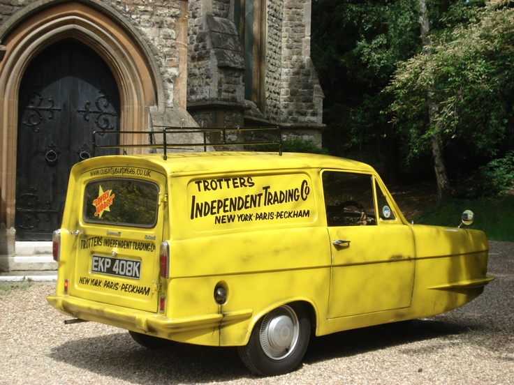 How To Make Only Fools And Horses Van Cake