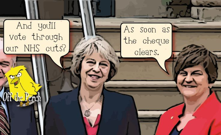 Tories pay £1bn for the right to carry on saying there's no money