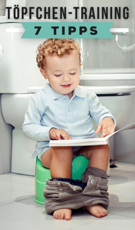 Von der Windel zum Töpfchen ist es manchmal ein langer Weg.  Wie du dein Baby beim Trockenwerden unterstützen kannst.