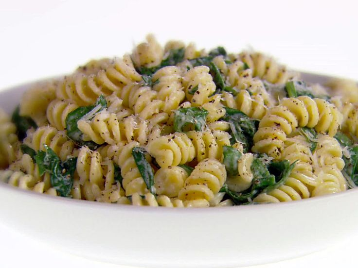 Fusilli with Pecorino Romano and Black Pepper recipe from Giada De Laurentiis via Food Network