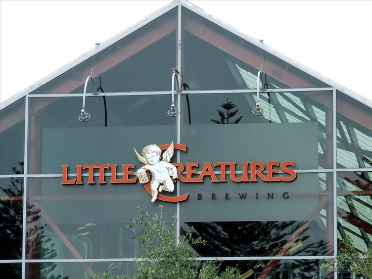 Dinner and drinks: Little Creatures Brewery in Fremantle- one of our go-to choices for a night out