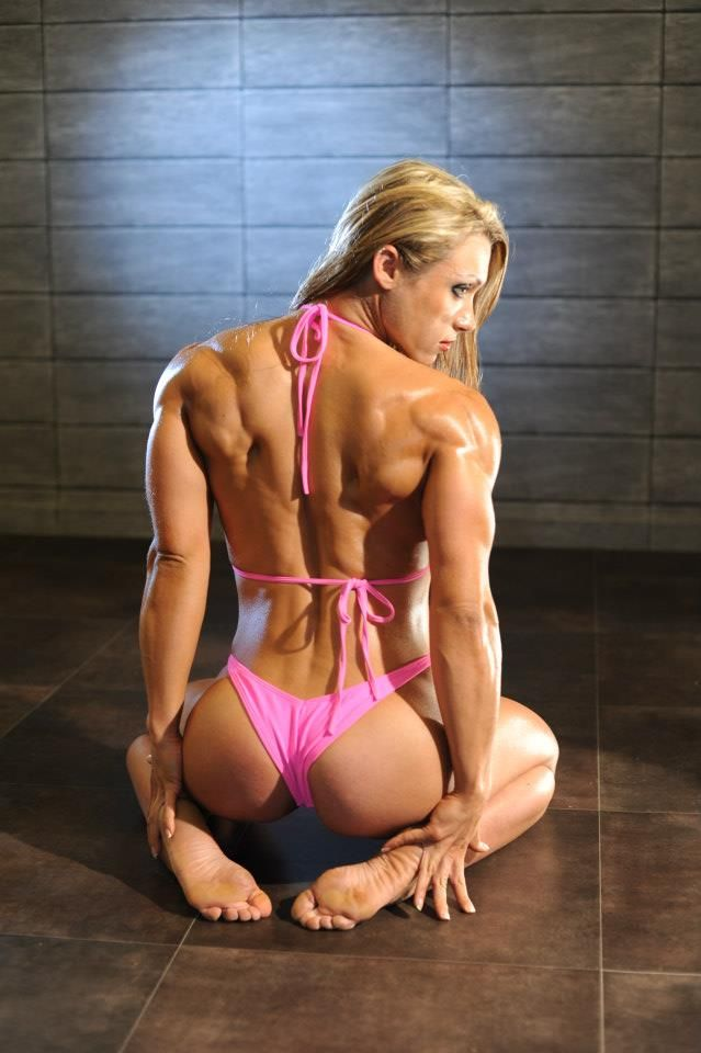 Lady bodybuilder fucking