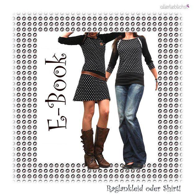noch mehr Bilder vom Kleid, bzw. Shirt, hier auf meinem Blog: http://allerlieblichst.blogspot.de/2012/06/ein-raglankleid.html  Und die Designbeispiele der Kunden findest Du...