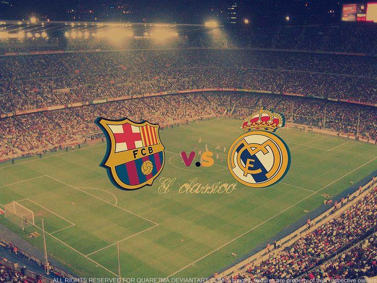 El Clasico. Real Madrid vs FC Barcelona
