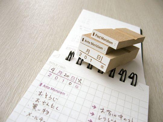 102730方眼日別ダイアリースタンプキット-01