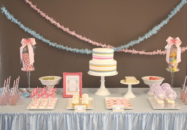 Adorable baby shower or first birthday party.
