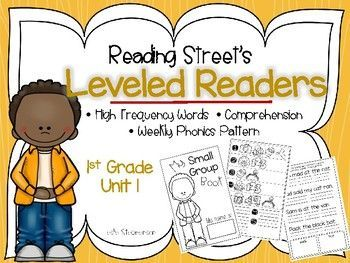 Does your district use the Reading Street series? If so, this product will review the skills introduced with each weekly story in unit 1 AND check comprehension for the leveled reader. Your kids will quickly establish independence with this activity after