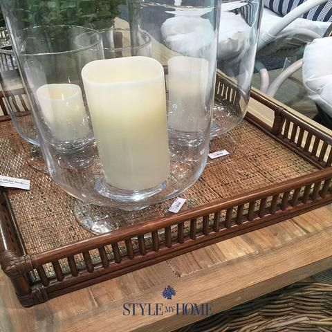 Hamptons Rattan Serving Tray from Style My Home