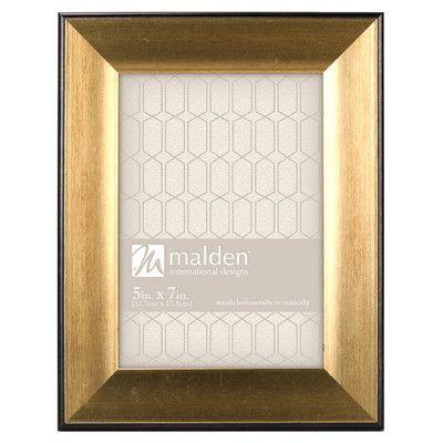 "Malden Trim Picture Frame Size: 5"" x 7"""