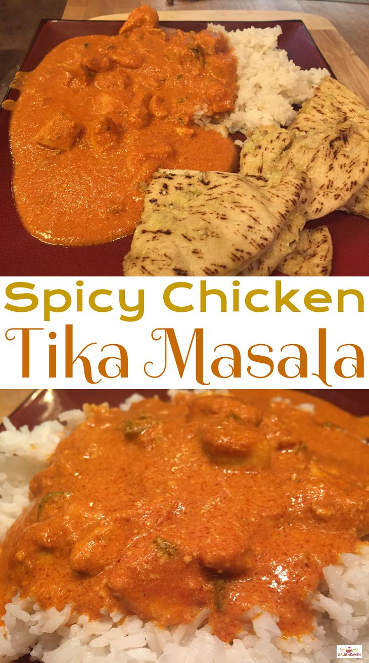 Our Spicy Chicken Tika Masala recipe is smooth and rich in taste and satisfies any hankering for this savory treat! It is fairly easy to make and the time spent on this recipe is well worth it! This delightful recipe will make you smile and keep you coming back for more! For the recipe, visit us here: http://www.grubheaven.com/recipe/spicy-chicken-tika-masala/