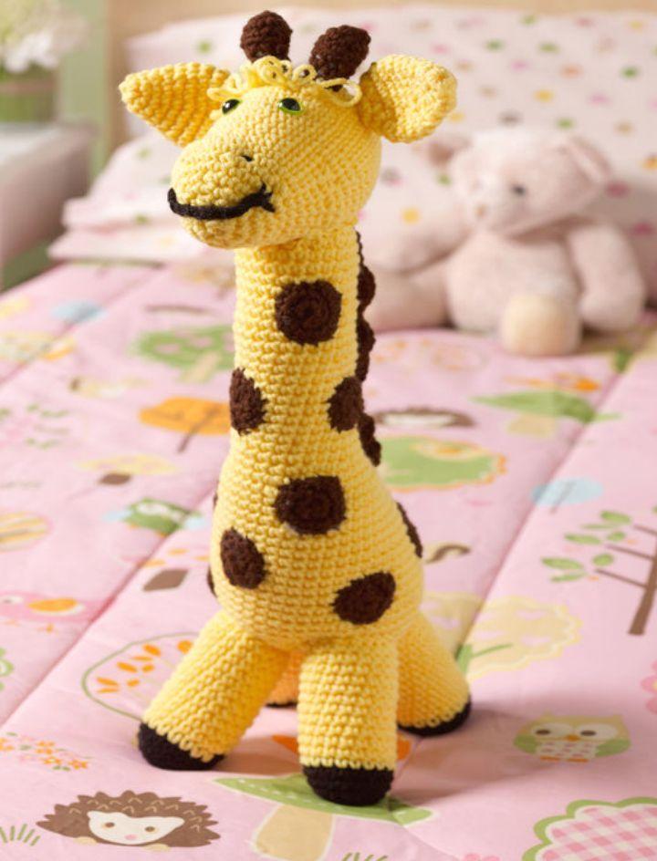 32 Free Crochet Giraffe Amigurumi Patterns - DIY & Crafts