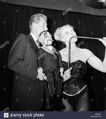 Ray Alan and strong woman Joan Rhodes