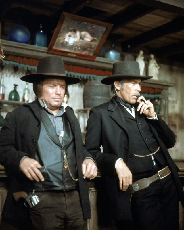 "Richard Jaeckel and James Coburn in ""Pat Garrett And Billy The Kid"""