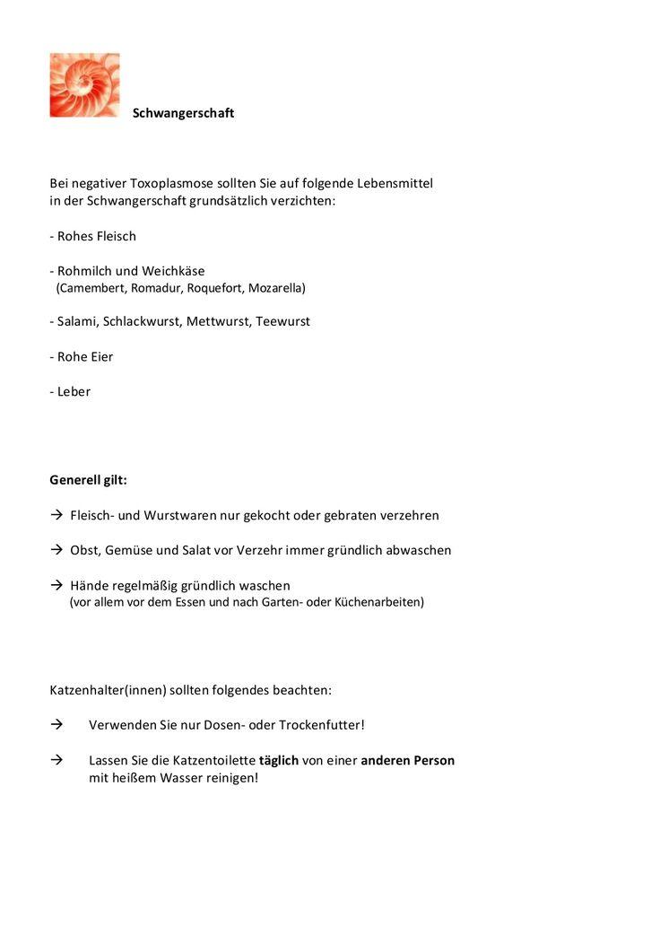 http://www.frauenaerzte-am-potsdamer-platz.de/Infektionsscreening  Toxoplasmose - Infektion in der Schwangerschaft by Frauenärzte Potsdamer Platz Berlin via slideshare