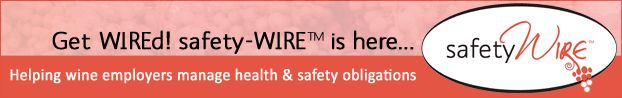 Health and Safety - so, so important. How's your system/ compliance? safety-WIRE has been developed especially to help NZ wine employers provide a safe workplace....