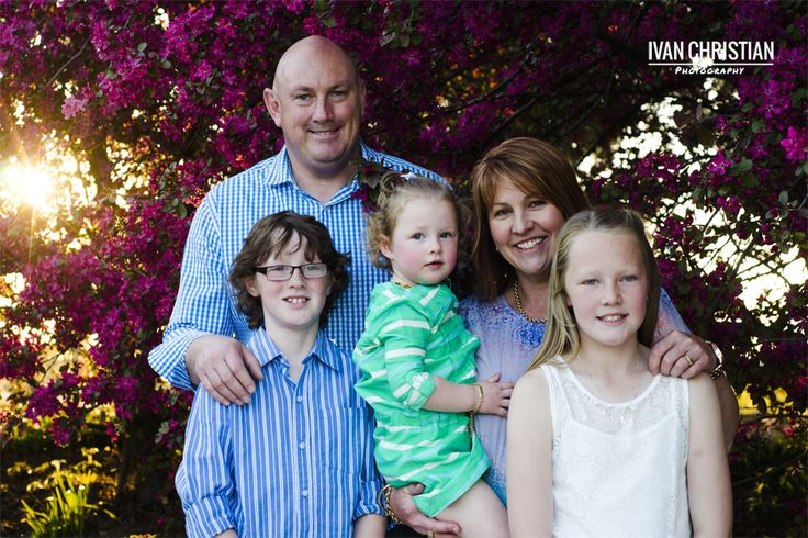 Catherine, Chris and the kids in Orange - Ivan Christian Photography http://ivanchristianphotography.com/