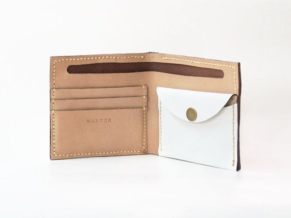 beautifully handmade leather wallet $75