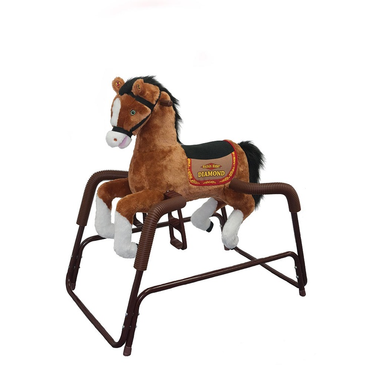Rocking Horse, Toys R Us: Rockin Rider, Rocks Hors, Plush Diamonds, Diamonds Horses, Spring Horses, Rider Plush, Baby Toys, Big Toysrus, Toysrus Plays